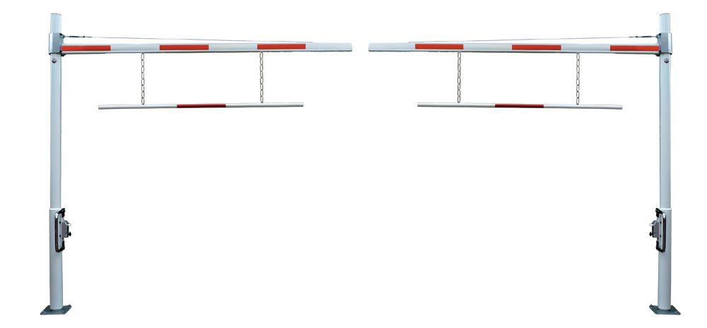 Doppelanlage Sperrbreite max. 12 mtr.