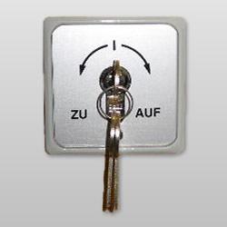 Schlüsseltaster mit 1 oder 2 Schließkontakten